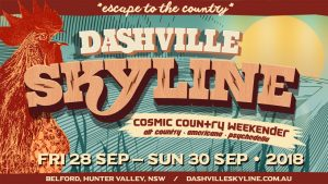 Dashville Skyline 2018 line-up tickets bands artists buy