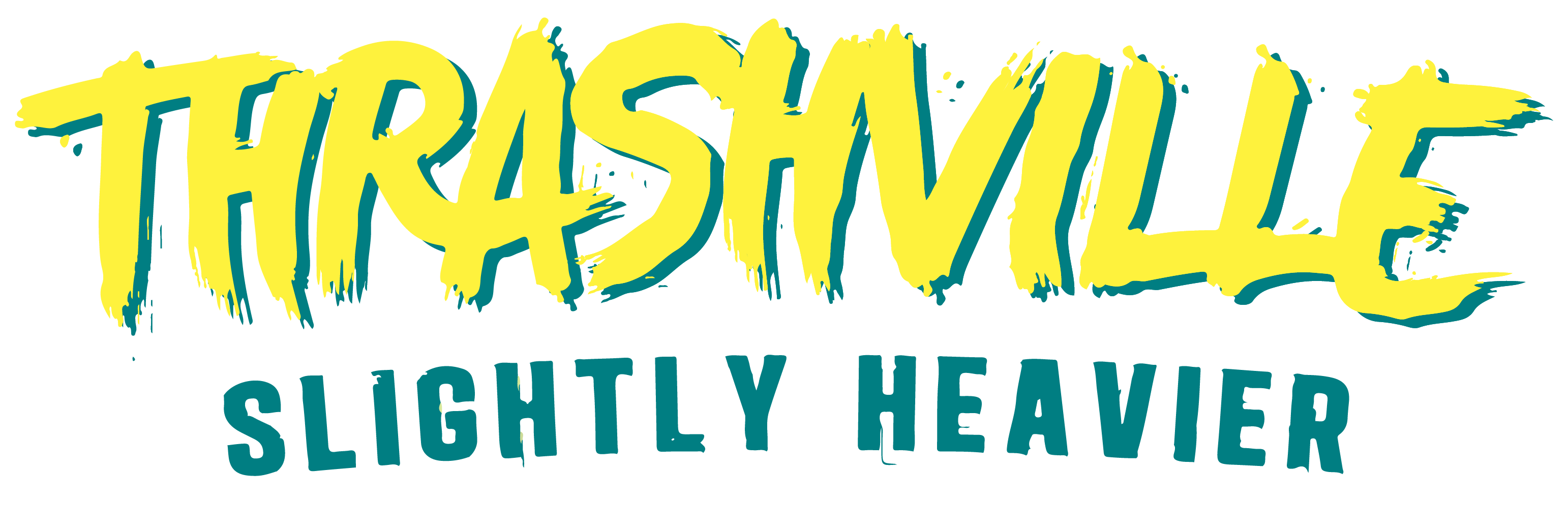 Thrashville Logo Yellow:Green