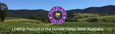 Pokolbin pride LGBQTI festial hunter valley