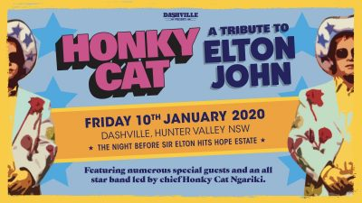 Elton John Hope Estate 2020 tickets tribute Dashville