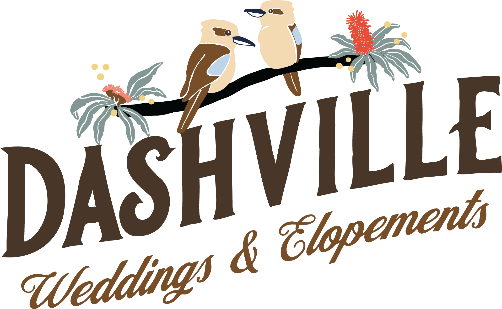 Dashville Weddings _ Elopements Primary Logo