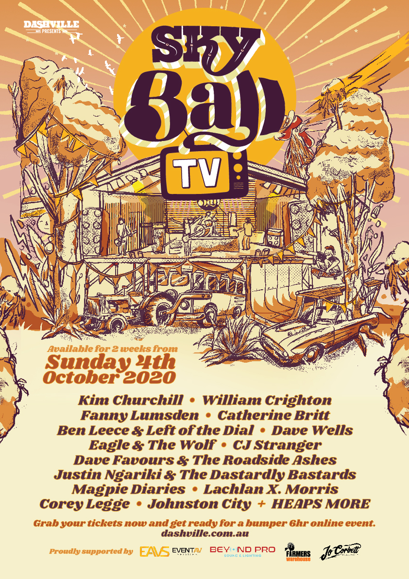 SKYBALL TV Event Festival Poster Low Res