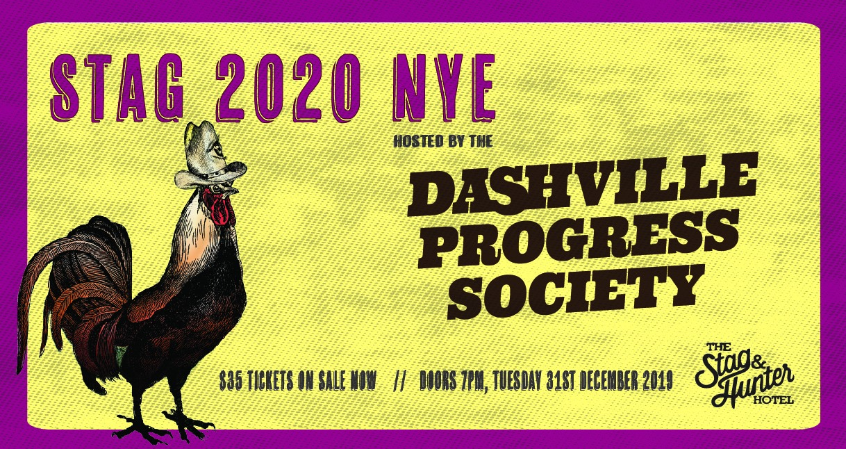 New Year's Eve Newcastle party dashville hunter valley Stag and Hunter Mayfield